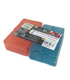 72 Units of 2 Piece Storage Container Set - Storage & Organization