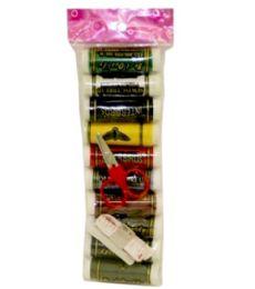 120 Units of 10 Piece Thread Mini Kit 120 Yard - Sewing Supplies