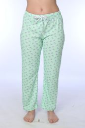 36 Units of Ladies Cotton Comfortable Pajama Bottoms - Womens Pants