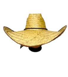 100 Units of Mexico Straw Hat Cowboy Style - Fedoras, Driver Caps & Visor