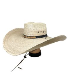 15 Units of Mexico Straw Hat Cowboy Style - Cowboy & Boonie Hat