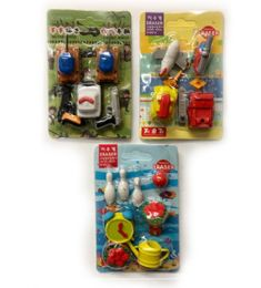 120 Units of Mini Eraser Boy Style - Erasers
