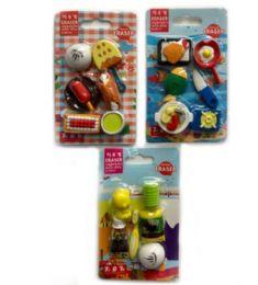 120 Units of Mini Eraser Girl Style - Erasers