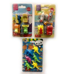 120 Units of Mini Eraser Boy Style 2 - Erasers