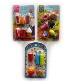 120 Units of Mini Eraser Food Style - Erasers