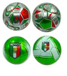 15 Units of Mexico Design Soccer Ball 9 Inch - Balls