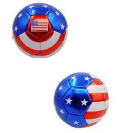 15 Units of Usa Design Soccer Ball 9 Inch - Balls