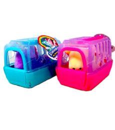 24 Units of Mini Unicorn Cage - Light Up Toys