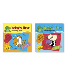 72 Units of Babys First Coloring Book - Coloring & Activity Books