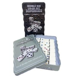 30 Units of Dominos Double Six Color Dot - Dominoes & Chess
