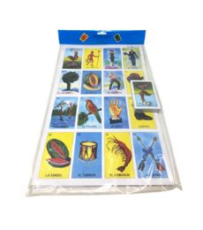 144 Units of Loteria In A Bag Small - Playing Cards, Dice & Poker