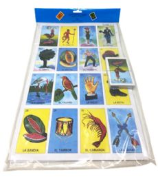 48 Units of Jumbo Loteria Mexican Game - Playing Cards, Dice & Poker