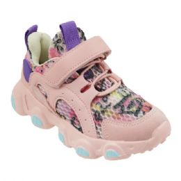 12 Units of Girls Sneakers Casual Sports Shoes In Blush - Girls Sneakers