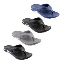 48 Units of Mens Bubble Flip Flops - Men's Flip Flops and Sandals