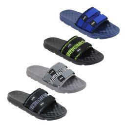 48 Units of Men's Slide Sandals - Men's Flip Flops and Sandals