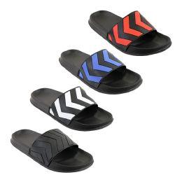 48 Units of Men's Arrow Slide - Men's Flip Flops and Sandals