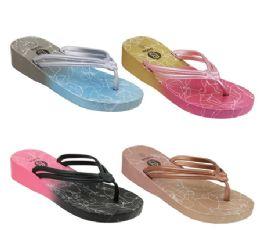 40 Units of Women's Ombre Sandals - Women's Flip Flops