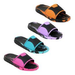 40 Units of Women's Colorful Slides - Women's Sandals