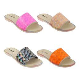 40 Units of Women's Holo Slide - Women's Sandals