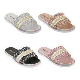 40 Units of Women's Summer Slides - Women's Sandals