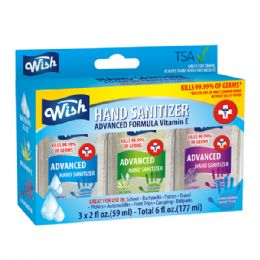 48 Units of 3 Pack 2oz Hand Sanitizer - Hand Sanitizer