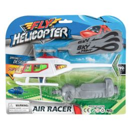 48 Units of Pull String Fly Helicopter - Cars, Planes, Trains & Bikes