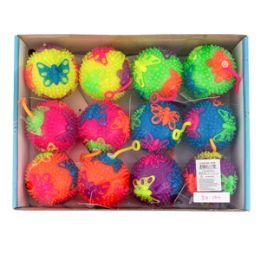 "144 Units of 3"" Light Up Butterfly Yo Yo Ball - Light Up Toys"