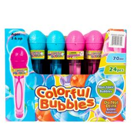 48 Units of Microphone Bubble Wand - Bubbles