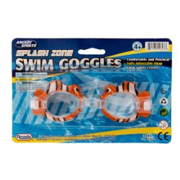 96 Units of Animal Swim Goggles - Summer Toys