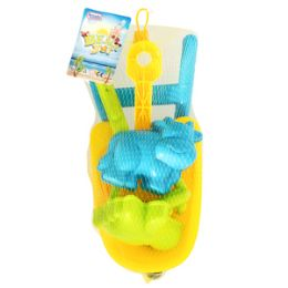 24 Units of Wheelbarrow Sand Toys - 5 Piece Set - Beach Toys