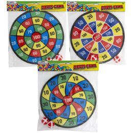 18 Units of Dart Board Game W/2 Balls Safety Fabric 3ast 11in Dia Pbh - Toys & Games