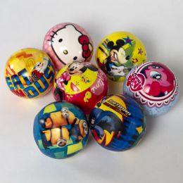65 Units of Mini Playball Asst Licensed - Balls