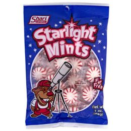 12 Units of Mints Starlight 7 Oz Peg Bag - Food & Beverage