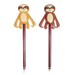 24 Units of Sloth Pens With Display - Pens