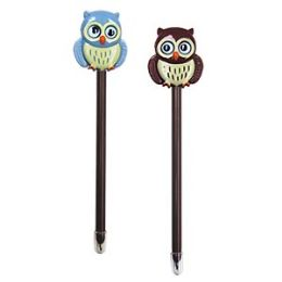 24 Units of Owl Pens With Display - Pens