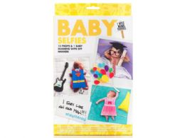72 Units of Npw Usa Baby Selfie Kit With Props And Marker - Party Supplies
