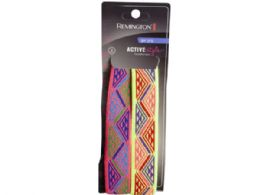 54 Units of Remington 2 Pack Gel Aztec Stretch Headwraps In Assorted Col - Head Wraps