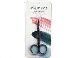72 Units of Element Professional Quality Fine Tip Beauty Scissors - Cosmetics