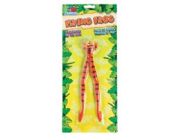 72 Units of Jumbo Flying Stretch Frog - Toys & Games