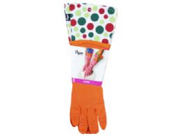 36 Units of Pink Cleaning Rubber Gloves - Kitchen Gloves