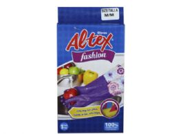 36 Units of Altex Gloves Fashion Extra Long Cleaning GloveS- Medium - Kitchen Gloves