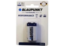 60 Units of Blaupunkt Performance Plus Alkaline 9v Battery - Electronics