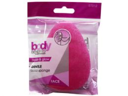 108 Units of Body Benefits By Body Image Polish And Glow Gentle Facial Sponge - Assorted Cosmetics