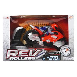 12 Units of Rev Rollers Motorcycle - 2 Piece Set - Cars, Planes, Trains & Bikes