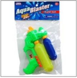 "48 Units of 7.25"" 2-Tank Mini Water Gun In Poly Bag W/header, 3 Assrt - Water Guns"