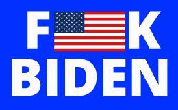 120 Units of Fuck Biden Bumper Stickers - Stickers