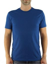 24 Units of Yacht & Smith Mens Cotton Crew Neck Short Sleeve T-Shirts, Royal Blue, 3X Large - Mens T-Shirts