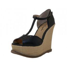 12 Units of Women's Angeles Shoes High Platform Sandals - Women's Heels & Wedges