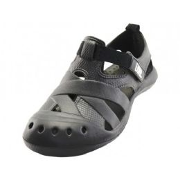 30 Units of Men's Comfortable Walking Velcro Sandal - Men's Flip Flops and Sandals