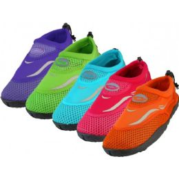 36 Units of Boy's Wave Perfect Fit Water Shoes - Unisex Footwear